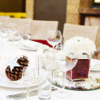 Luxury place setting for wedding — Stock Photo #16899301