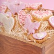 Cookies for valentine's day — Stok fotoğraf