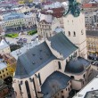 Latin Cathedral in Lviv, Ukraine — Foto de Stock