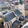 Latin Cathedral in Lviv, Ukraine - Stock Photo