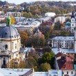Stock Photo: Beautiful view from Town Hall, Lviv, Ukraine