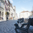 Rynok square, Lviv, Uktaine — Stock Photo