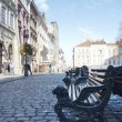 Stock Photo: Rynok square, Lviv, Uktaine