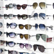 Sunglasses in a shop - Stock Photo