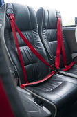 Assentos de ônibus vazio — Foto Stock