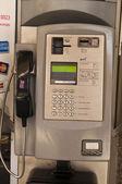 Public phone in England — Stock Photo