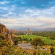 Virupaksha Hindu Temple in Hampi, India. - ストック写真