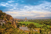 Virupaksha Hindu Temple in Hampi, India. — Stock Photo