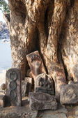 Sacred rocks in Hampi, India — Foto Stock