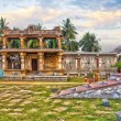 Picturesque view of Vittala temple - Stock Photo