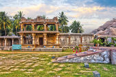 Picturesque view of Vittala temple — Stockfoto