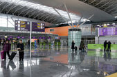 Interior of the International Airport Kyiv Boryspil — Stock Photo