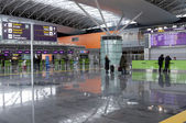 Hall in the International Kyiv Airport, Boryspil — Stok fotoğraf
