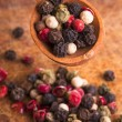 Stock Photo: Pepper mix