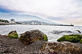 Yalta bay — Stock Photo