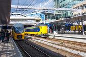 Railway station in Utrecht — Stok fotoğraf