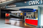 Currency Exchange and GWK Travelex — Stock Photo