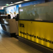 Schiphol Transfer Assistance desk — Stock Photo