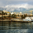 Stock Photo: Port in city of Yalta