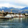Yalta Port panorama — Stock Photo