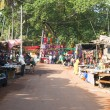 Arambol market with souvenirs — Stock Photo