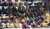 Hindu deities statuettes souvenirs — Stock Photo