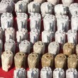 Elephant figurines — Stockfoto