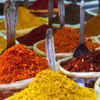 Indian colored powder spices — Stock Photo #36518559
