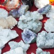 Different quartz stone — Foto Stock