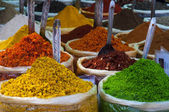 Indian colored spices — Stock Photo