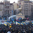 Stok fotoğraf: Ukrainipeople demand resignation of government and early voting