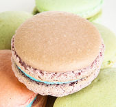 Close-up of macaroon — Stock Photo