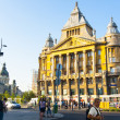 Stock Photo: Small Boulevard in Budapest