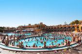 Szechenyi thermal baths in Budapest — Stock Photo