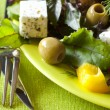 Vegetarian fresh salad — Stock Photo