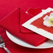 Stock Photo: Valentine's Day Table