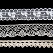 Stock Photo: Lace background