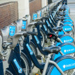 Bicycles Barclays in London — Stock Photo #41251811