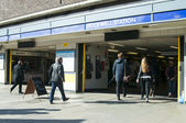 London Stockwell tube station — Stock Photo