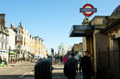 Clapham Common tube station — Stock Photo