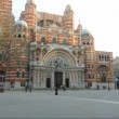 Westminster Cathedral in London — Stock Video #41926771