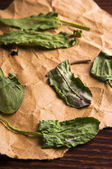 Dried sorrel — Stock Photo