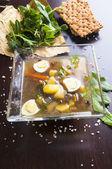 Sopa verde — Foto de Stock