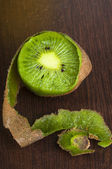 Peeled kiwi — Stock Photo