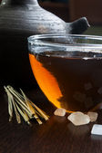 Lemon grass tea — Stock Photo