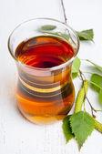 Brzoza herbaty — Zdjęcie stockowe