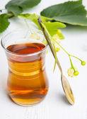 Herbata z lipy — Zdjęcie stockowe