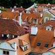 Red roofs in Prague — Stock Photo #47797247