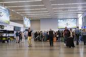 Vaclav Havel Airport in Prague — Foto de Stock