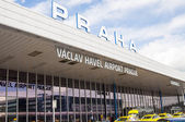 Vaclav Havel Airport — Stock Photo